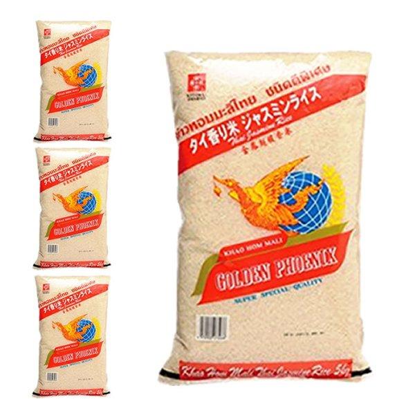 画像1: 高級香り米(ジャスミン米)タイ米 5kg x 4袋 (1)